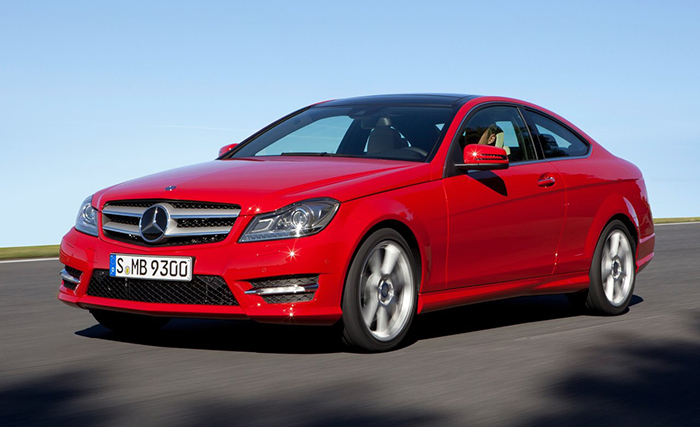 Mercedes Benz C-Class Coupe 2012