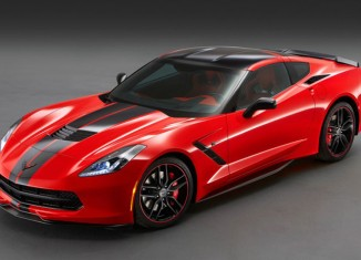 Chevrolet Corvette Stingray Pacific Coupe 2013