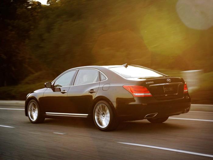 Обновленный Hyundai Equus подорожал