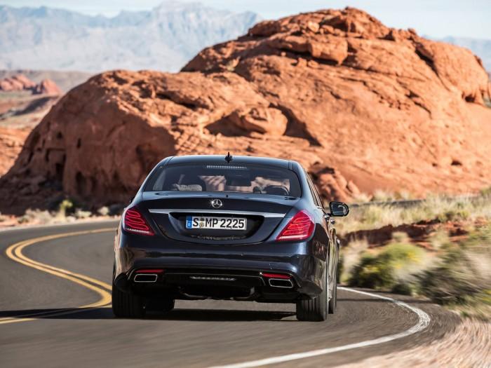 C конвейера сошел первый Mercedes S-Class нового поколения