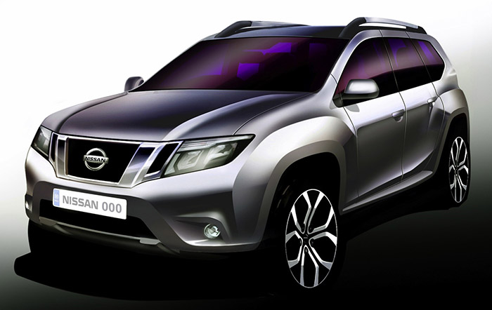 Опубликовано первое официальное изображение Nissan Terrano