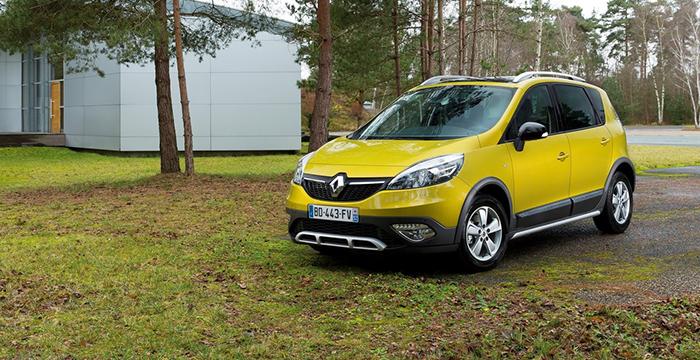 Рестайлинговый Renault Scenic уже в продаже