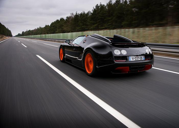 Bugatti Veyron Grand Sport Vitesse WRC 2013