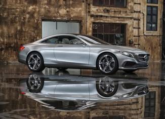 Mercedes Benz S-Class Coupe Concept 2013