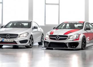 Mercedes-Benz CLA 45 AMG и CLA 45 AMG Racing Series