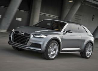 Audi Crosslane Coupe Concept 2012