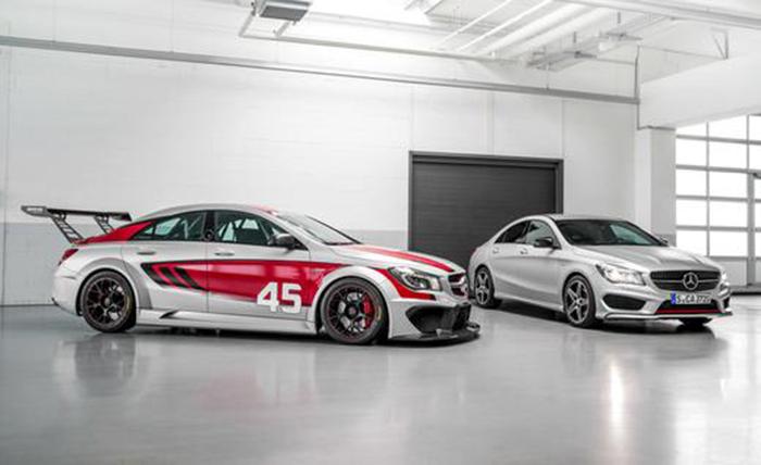 Mercedes-Benz CLA 45 AMG Racing Series и CLA 45 AMG