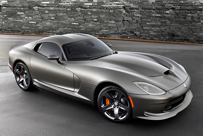 SRT Viper GTS Anodized Carbon Special Edition 2014