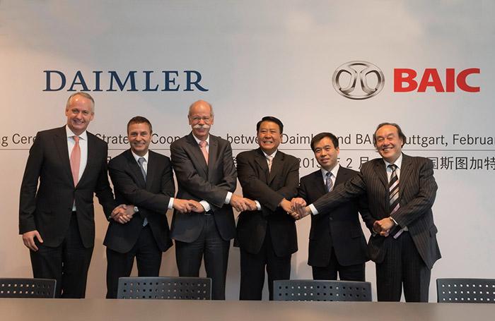 Daimler AG & BAIC Motor