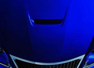 Lexus RC F teaser