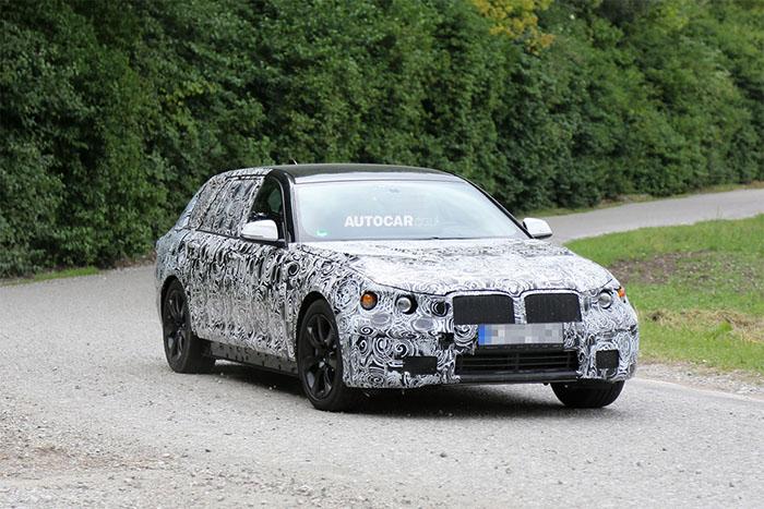 BMW 5-Series spy shot