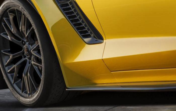 Chevrolet Corvette Zo6 teaser
