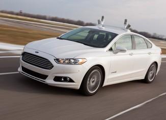 Ford Fusion Hybrid с системой автопилота