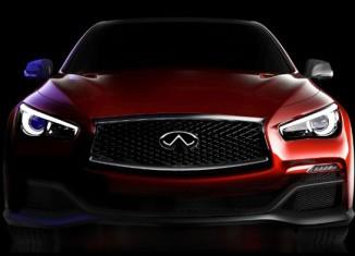 Infiniti Q50 Eau Rouge teaser