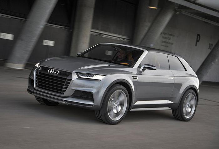 Audi crosslane coupe 2012 Concept