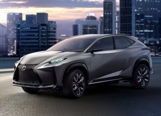 Lexus LF-NX Concept 2013