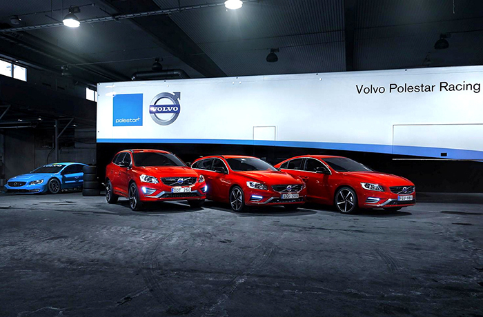 Volvo S60, V60 и XC60 в версии Black R