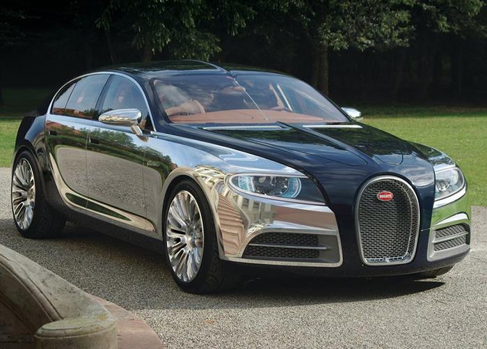 Bugatti Galibier Concept 2010