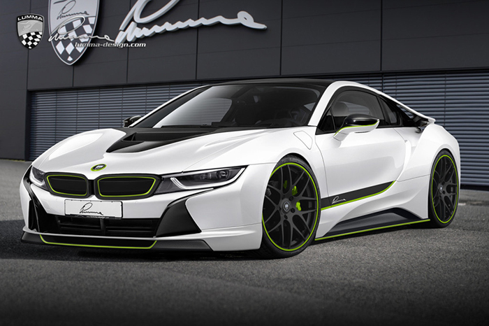 BMW i8 by Lumma Design