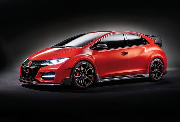 Honda Civic Type R Concept 2014