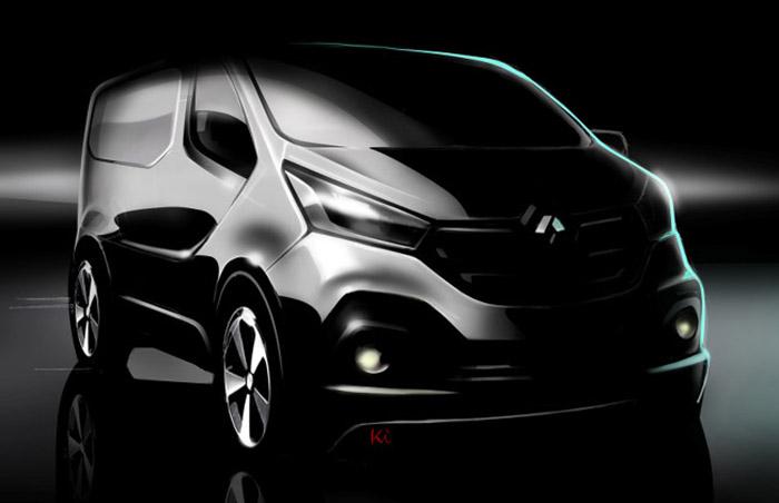 Renault Trafic teaser