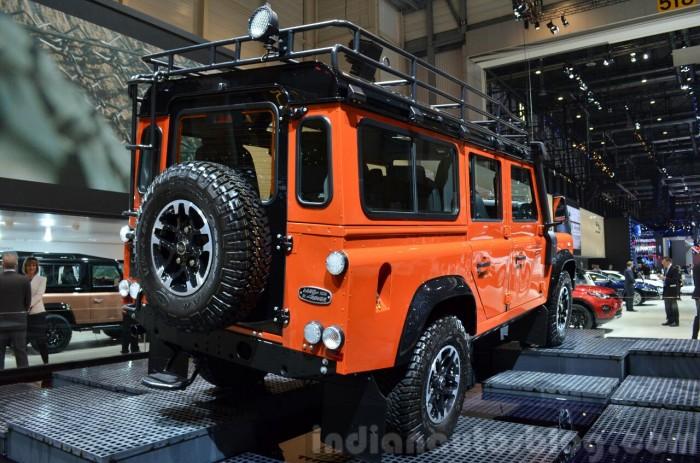 Land-Rover-Defender-Adventure-Edition-rear-three-quarter-at-the-2015-Geneva-Motor-Show