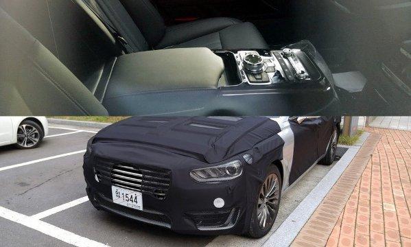 В сети появились снимки обновленного интерьера Hyundai Equus