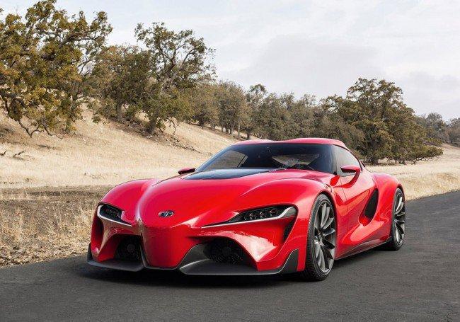 Концептуальное купе Toyota Supra официально дебютирует в 2016 году