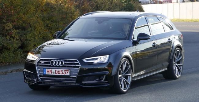 На тестах впервые замечен «заряженный» универсал Audi RS4 Avant