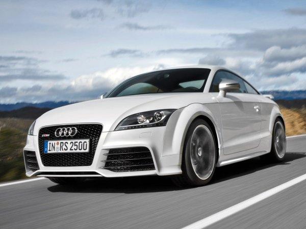Новая Audi TT RS замечена на испытаниях