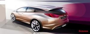 Хэтчбек Honda Civic получит два новых турбированных двигателя