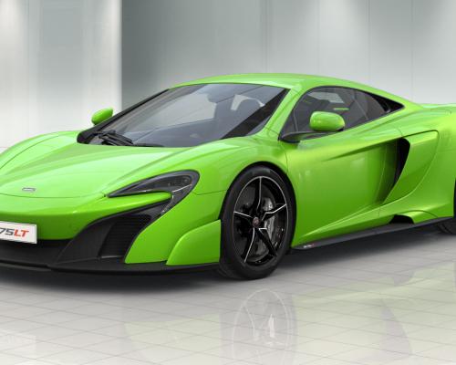 McLaren разрабатывается открытая версия современного суперкара 675LT Spider