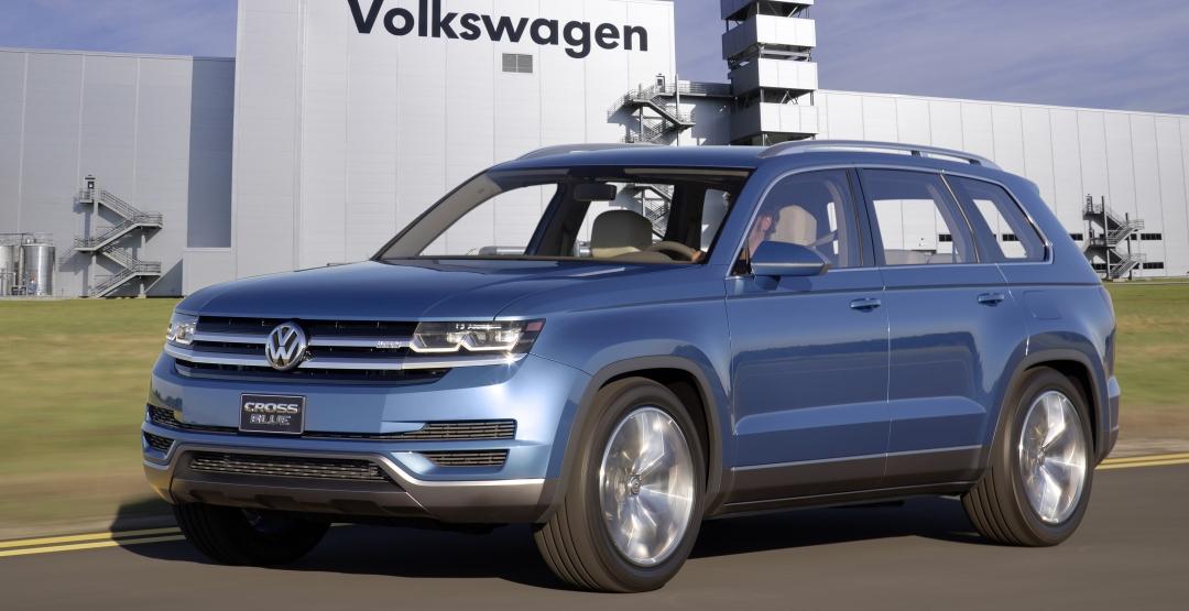 Volkswagen объявил дату начала производства нового кроссовера