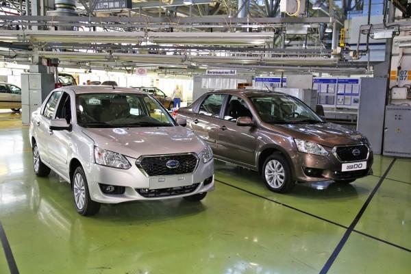 Автомобили Datsun, собранные в Тольятти, отправятся на экспорт