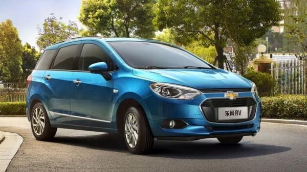 В Китае представили новый Chevrolet Lova RV