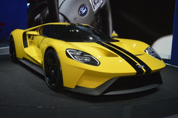 В Лос-Анджелесе представлен новый Ford GT