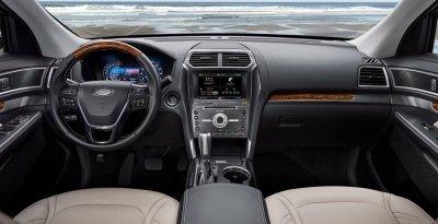 В России появится обновленный кроссовер Ford Explorer