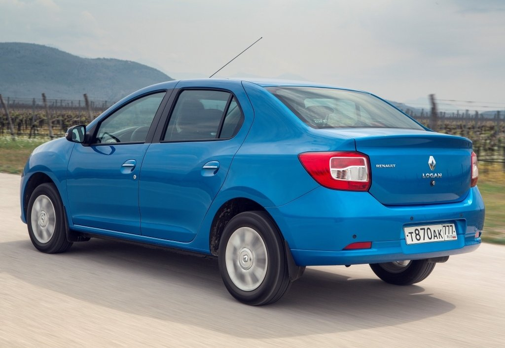 В России реализовано 600 тысяч седанов Renault Logan