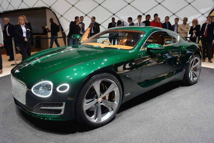 Компания Bentley выпустит новый компактный кроссовер и спорткар
