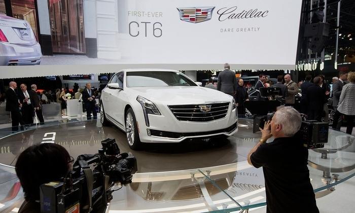 Компания Cadillac озвучила цены на флагманский седан CT6
