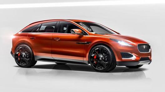 К 2017 году выйдет электрический кроссовер Jaguar E-Pace