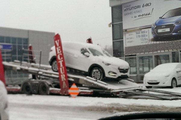 Новый кроссовер Hyundai Tucson появился в России