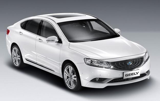 Geely GC9 стал «Автомобилем 2016 года» в Китае