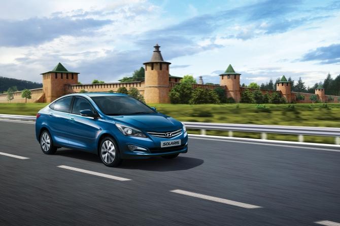 В ноябре Hyundai продала 15 101 автомобиль в России