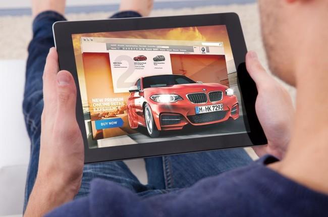 Компания BMW начала реализовывать автомобили через интернет