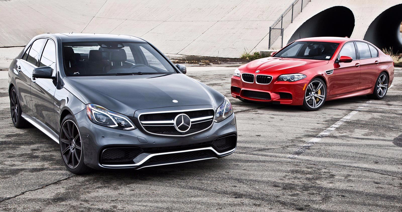 Mercedes-AMG и BMW M