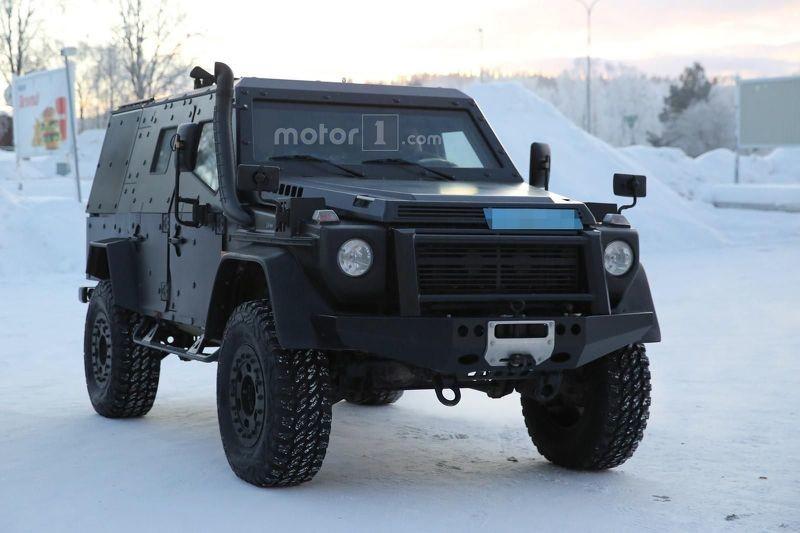 Mercedes bronevik