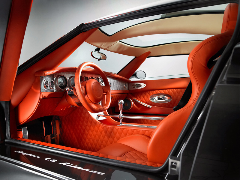 2008 Spyker C8 Aileron top car rating and specifications