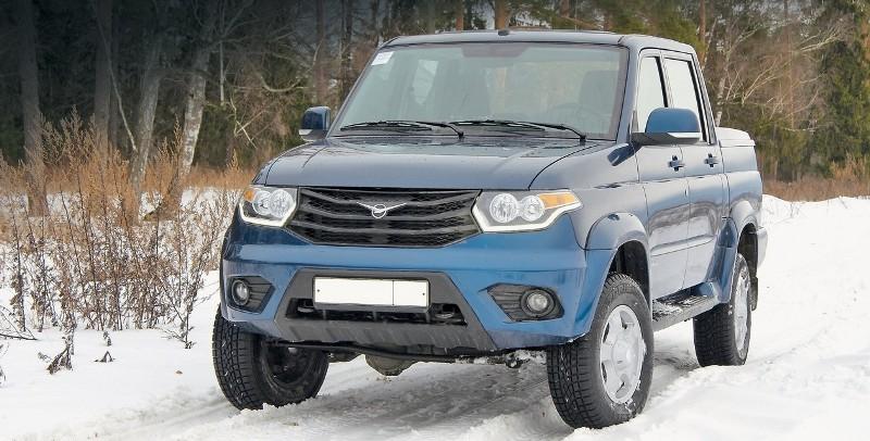 Отечественная компания УАЗ стала лидером продаж со своим пикапом в августе месяце